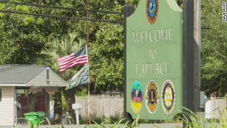 LaPlace is the main city in St. John the Baptist Parish, the US county with the highest coronavirus death toll per capita.