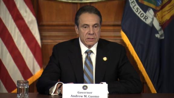 Image for New York Gov. Cuomo says he had a 'productive' White House meeting with Trump on coronavirus