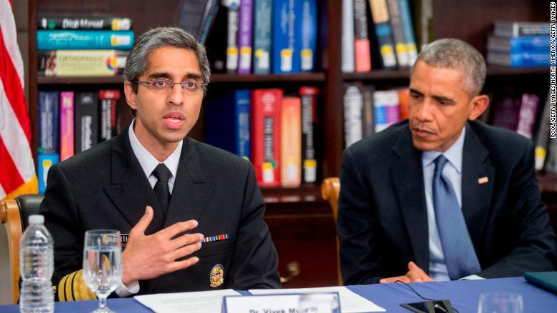 Biden expected to nominate Dr. Vivek Murthy to reprise role as US surgeon general