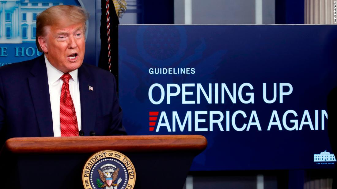 Trump's national opening -- less a 'boom,' more a long slog - CNNPolitics
