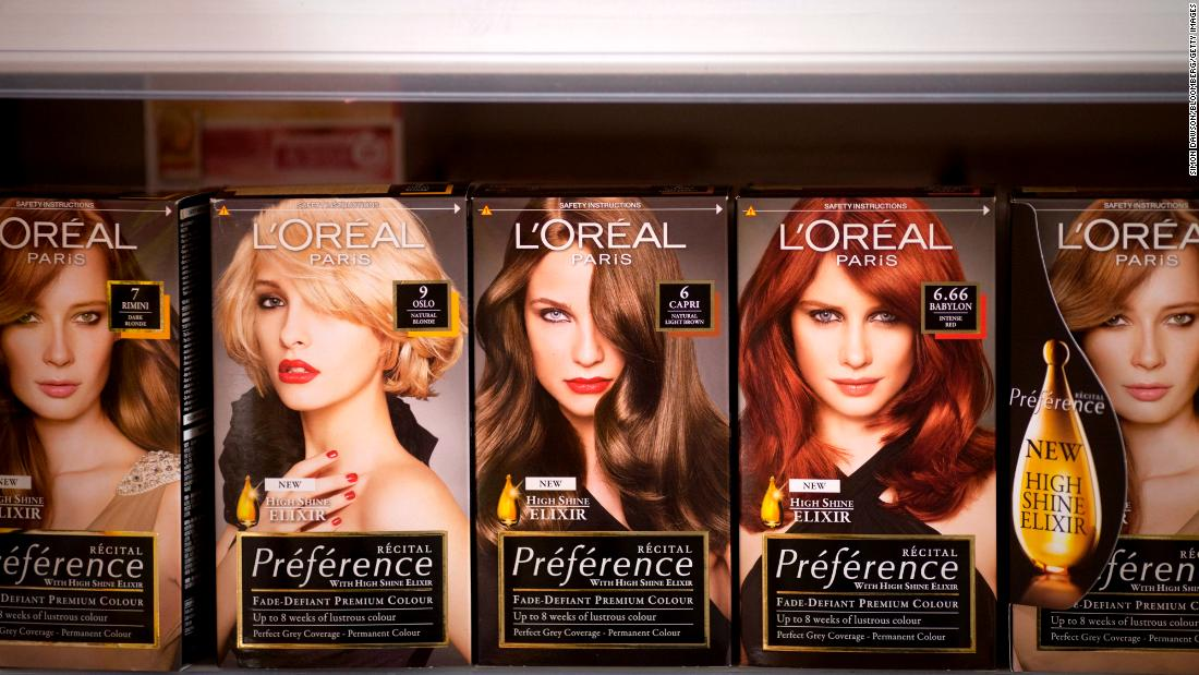 L'Oreal says peopel are still buying beauty products