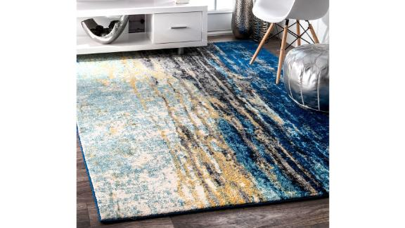 NuLoom Waterfall Vintage Abstract Area Rug, 5