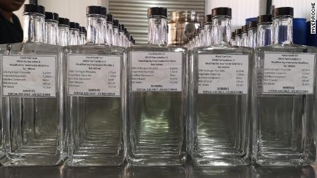 Alcohol ban has South African distilleries pivoting to a new product