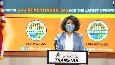 Harris County Judge Lina Hidalgo has urged the state to ramp up testing before considering opening back up.