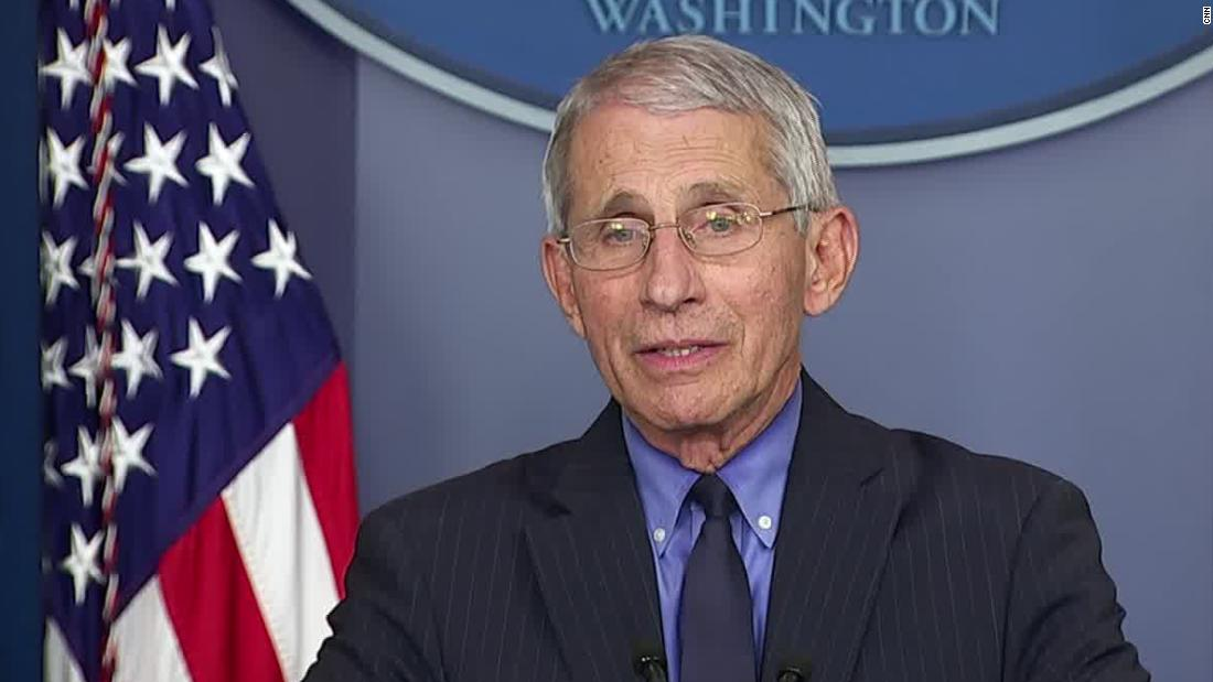 Fauci: There will be enough tests to begin reopening US thumbnail