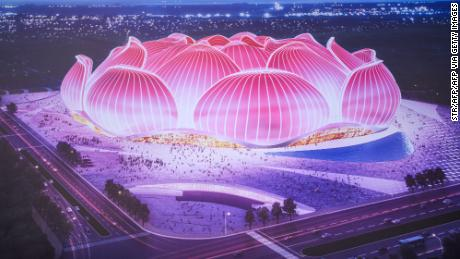 Chinese club starts building world's largest soccer stadium for $ 1.7 billion