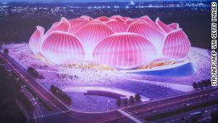 Chinese club begins constructing world's biggest soccer stadium for $1.7 billion