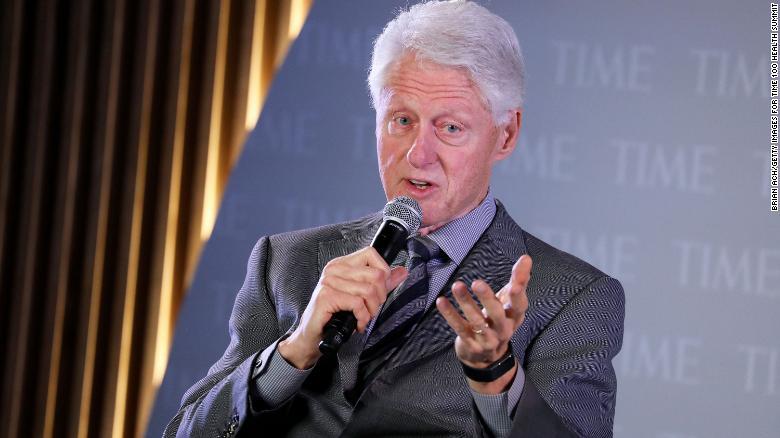 Former US President Bill Clinton Activists and politicians honour John Lewis