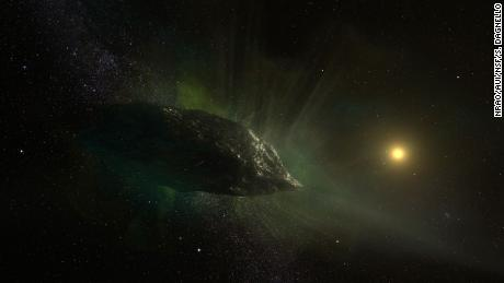 Scientists get first look inside comet from outside our solar system