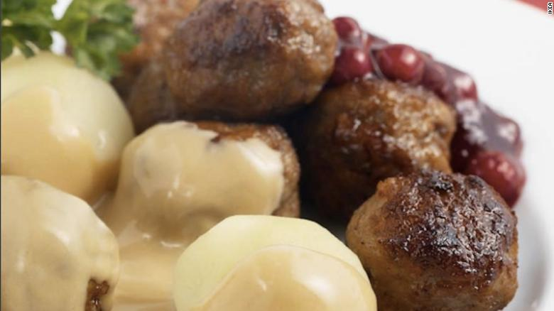 Ikea has released the recipe for the Swedish meatballs it serves at its stores.