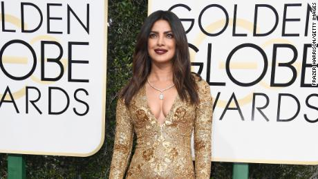Actress Priyanka Chopra Jonas is dishing up some of the food from her homeland.