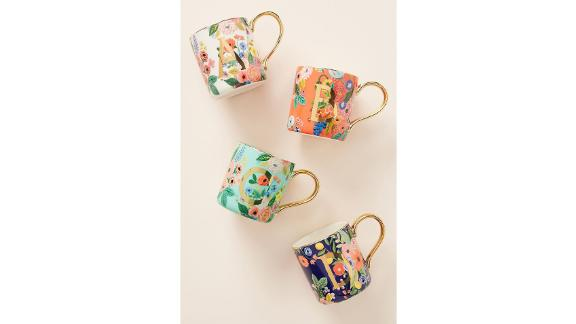 Rifle Paper Co. for Anthropologie Garden Party Monogram Mug