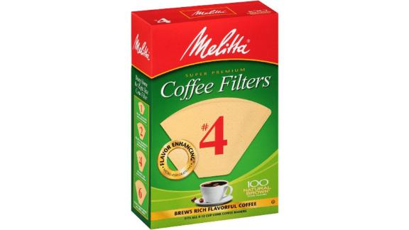 Melitta Natural Brown Coffee Filter 100-Count