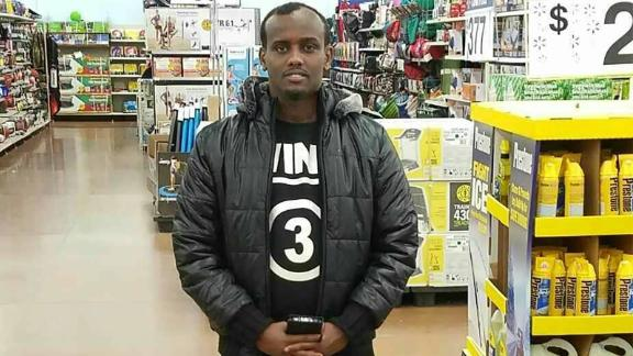 Bashir Mohamed, who was an employee at Amazon's Shakopee facility in Minnesota, was fired earlier this month.