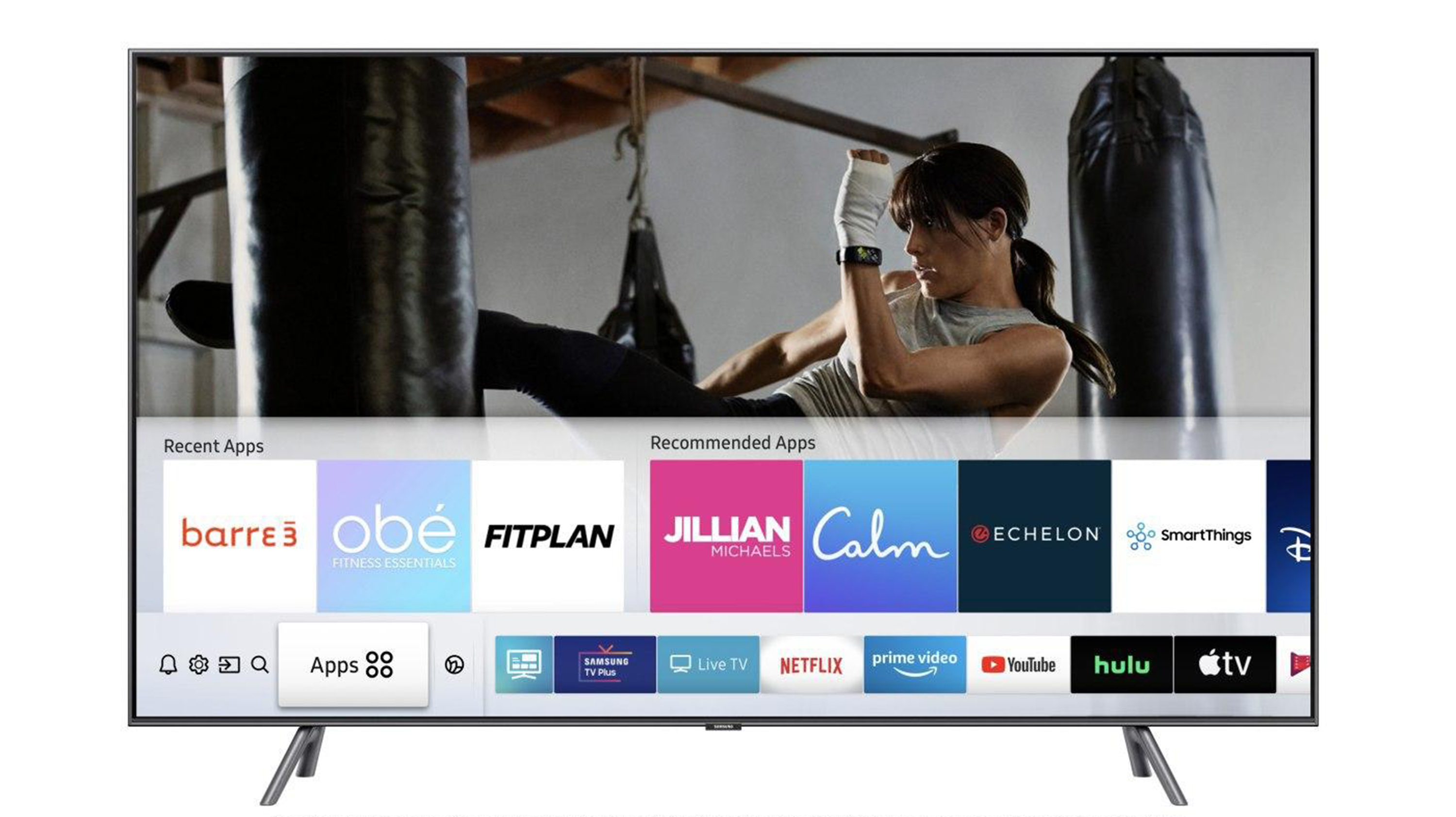 You Can Now Binge Workout Classes Thanks To Samsung S Smart Tvs Cnn