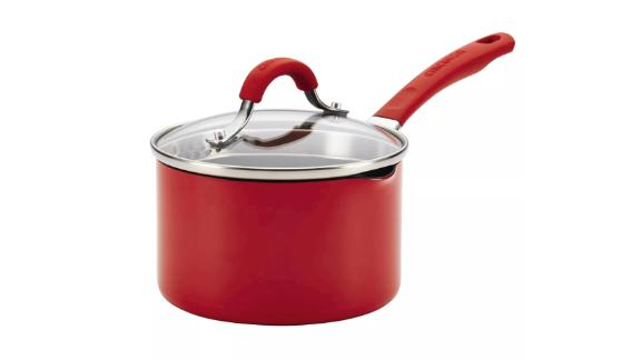 Circulon Innovatum Aluminum Covered Straining Saucepan