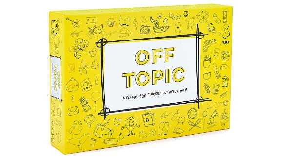 Off Topic Adult Party Game