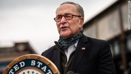 Schumer rips GOP stimulus proposal as 'emaciated' with Congress set to return for crucial month