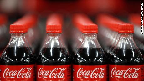 SALT LAKE CITY, UT - FEBRUARY 10: Bottles of Coke-Cola wait to be shipped out at a Coco-Cola bottling plant on February 10, 2017 in Salt Lake City, Utah.