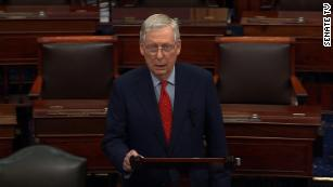 McConnell thinks bankruptcy, not more federal money, might be best for state and local governments