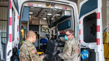 Trump admin weighs extending National Guard deployments for coronavirus response