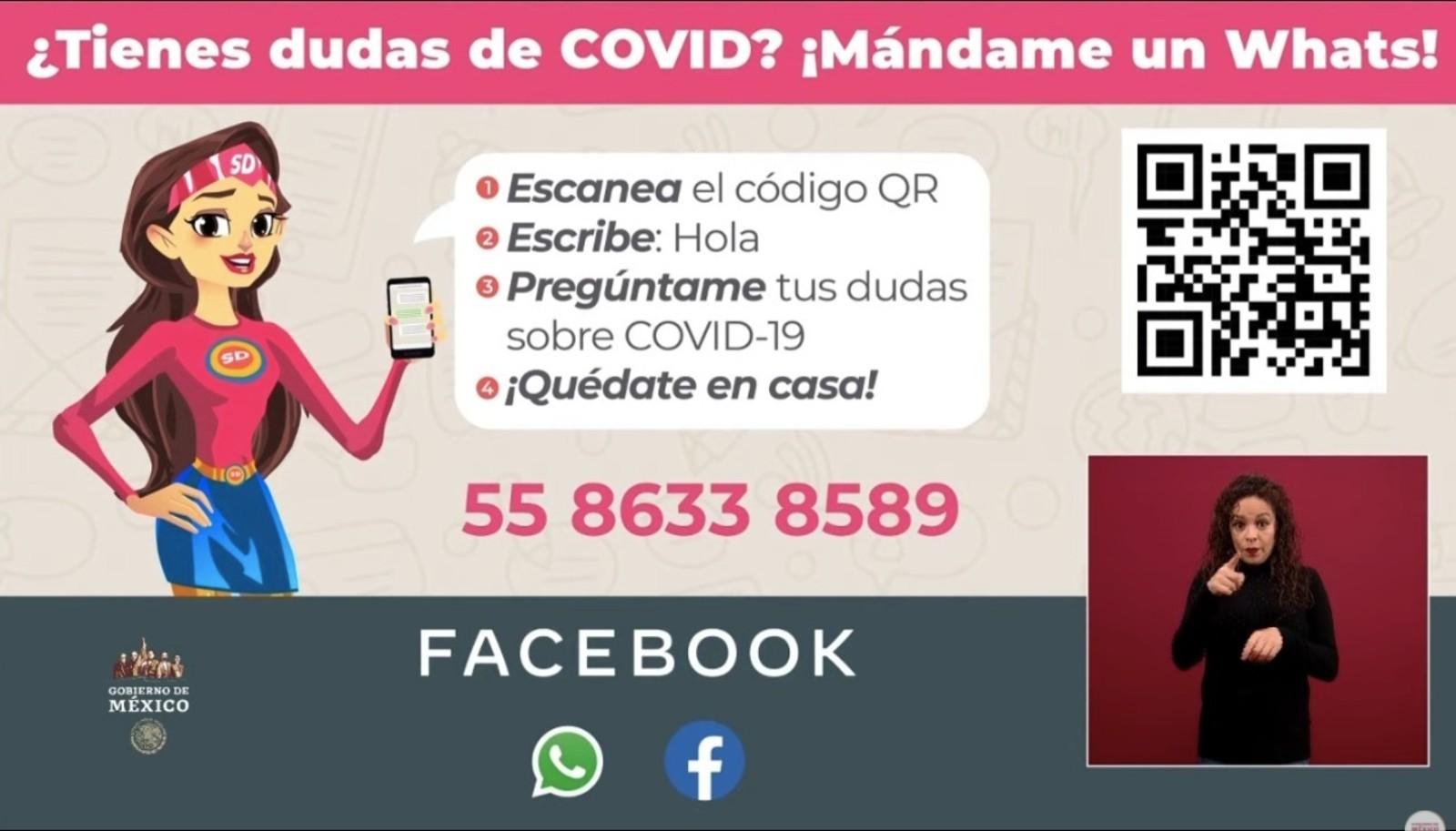 """México: """"Susana Distancia"""" atenderá las dudas sobre el coronavirus en  WhatsApp - CNN Video"""