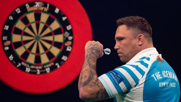 PDC European Championship semi-final in the Lokhalle in 2019.