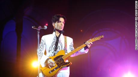 Prince performs on October 11, 2009, at the Grand Palais in Paris.