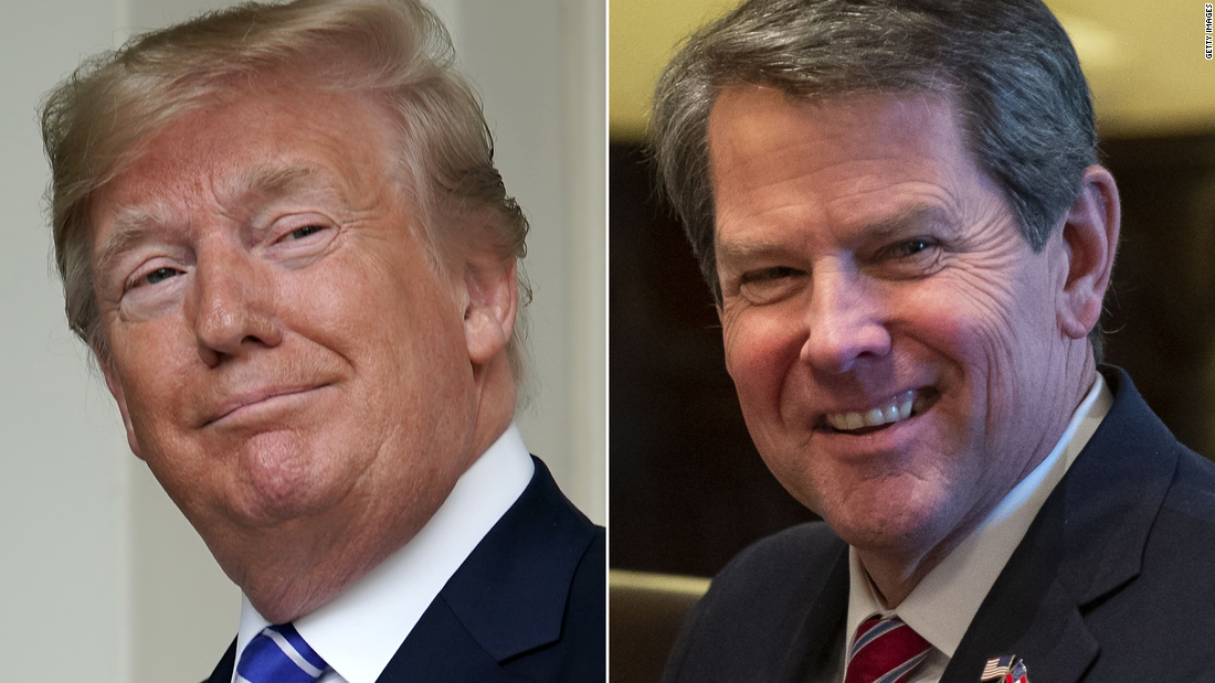 Trump pressured Georgia governor in call to help overturn Biden's win in state