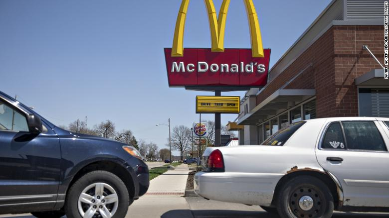 McDonald's is giving out free meals to first responders and healthcare workers.