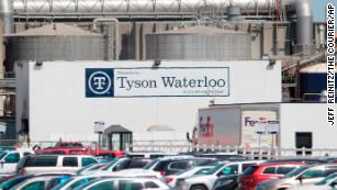 Tyson will close its biggest pork plant after workers call out sick with coronavirus