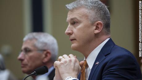 Director of key federal vaccine agency says his departure was retaliation