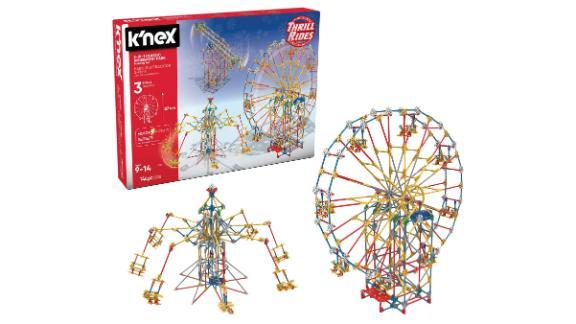 K'nex Thrill Rides 3-In-1 Classic Amusement Park Building Set