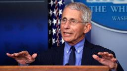 Fauci thanks NFL for following social distancing guidelines with virtual draft
