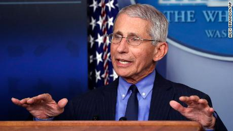 Fauci says US should double its testing over next several weeks