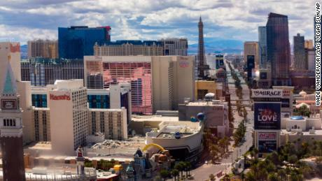 Las Vegas casinos will not be reopening anytime soon
