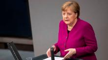 Merkel warns Germany is on the 'thinnest ice' as Europe realizes social distancing is here to stay