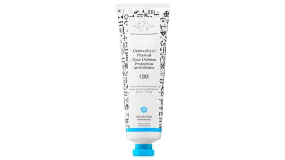 Drunk Elephant Umbra Sheer Physical Daily Defense Broad Spectrum Sunscreen SPF 30