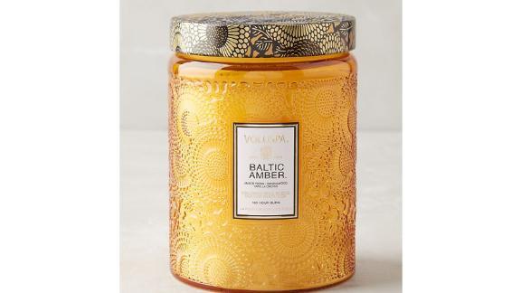 Voluspa Limited Edition Cut Glass Jar Candle