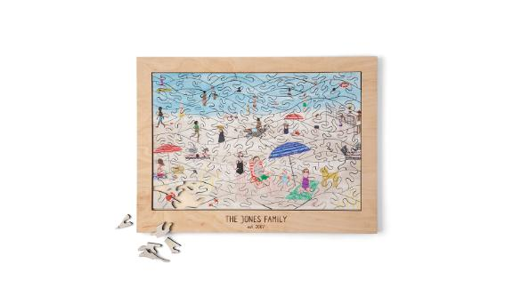 Custom Beach Puzzle