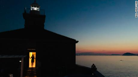 A lighthouse near Dubrovnik, Croatia, started a new chapter for Weir.