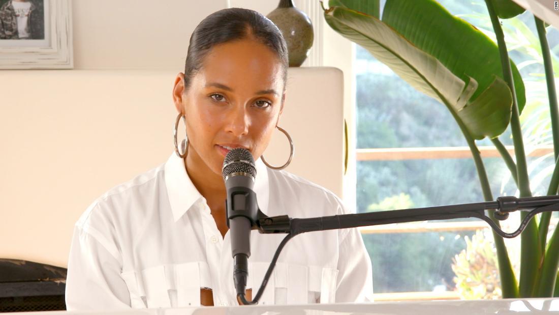 Alicia Keys debuts powerful anthem in partnership with CNN - CNN