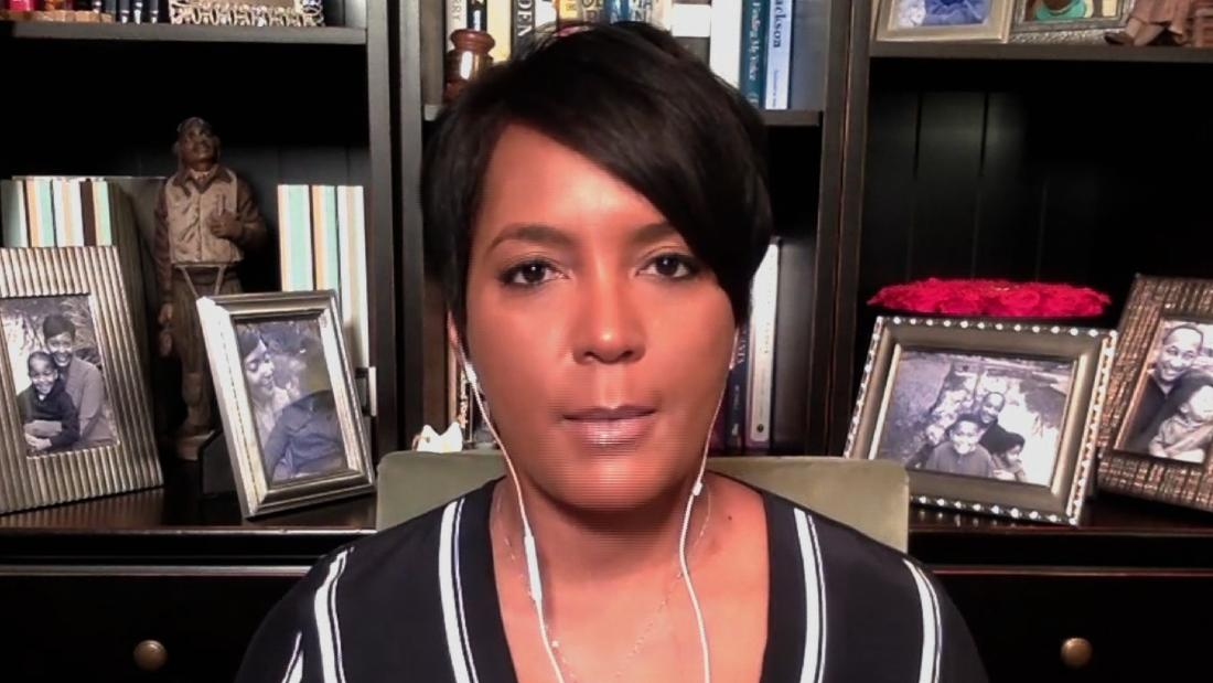 image of Atlanta Mayor Keisha Lance Bottoms: It's like we're living in the 'Twilight Zone'