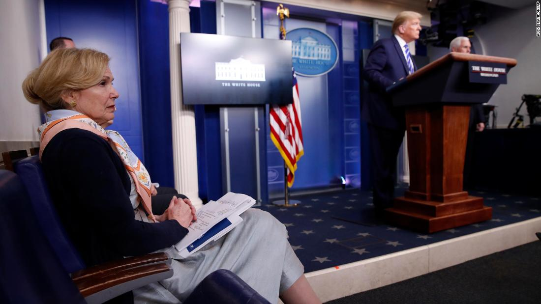 How a media-distracted Trump ended up derailing his own briefing