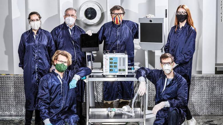A ventilator developed by NASA has been approved by the FDA for coronavirus patients