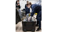 Engineers at NASA shipped the prototype ventilator for coronavirus disease patients to the Icahn School of Medicine at Mount Sinai in New York.