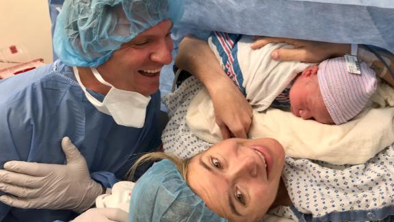 Bill Weir son being born 1