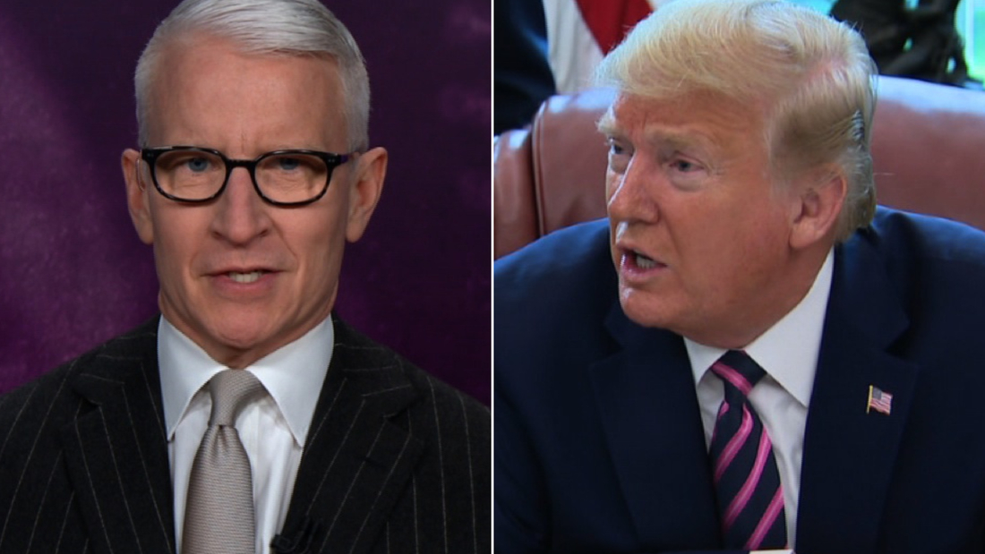 Anderson Cooper calls out Trump's walk back: He just lied