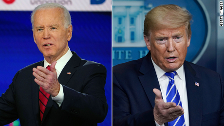 Biden campaign continues to put pressure on Trump and Trump's false voter fraud allegations