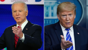 Trump and Biden clash as George Floyd's killing jolts 2020 race